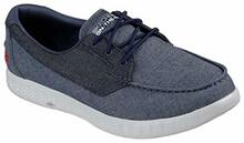 Skechers On The Go Glide-Coastline Denim Mens Boat Shoes