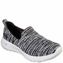 Skechers Performance Women's Go Joy 15602 Walking Shoe,Black/White