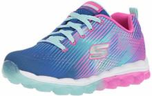 Skechers Kids Girl's Skech-Air-Star Jumper Sneaker,Lavender/Pink, 5 Medium US Big Kid