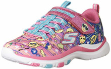 Skechers Kids Girl's Trainer Lite - Color Dance (Little Kid/Big Kid) Multi 4.5 M US Big Kid