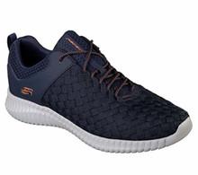 Skecher 52864 Men's Elite Flex - Belser Shoe (US M) (7, Navy)