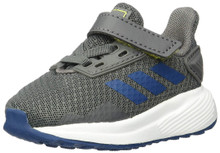 Adidas Baby Duramo 9 I I, Grey/Legend Marine/Shock Yellow, 9K M Us Toddler