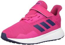 Adidas Baby Duramo 9 I, White/Real Magenta/Dark Blue, 7K M Us Toddler
