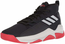 Adidas Men'S Streetfire Basketball Shoe, Black/Grey/Scarlet, 13 M Us