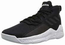 Adidas Men'S Streetfire Basketball Shoe, Black/White, 10.5 M Us