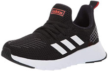 Adidas Unisex Ozweego Run, Black/White/Solar Red 4 M Us Big Kid