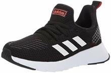 Adidas Unisex Ozweego Run, Black/White/Solar Red 5 M Us Big Kid