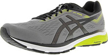 Asics 1011A034 Men'S Frequent Trail Running Shoe, Carbon/Red Alert - 8.5 D(M) Us