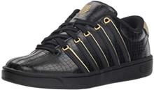 K-Swiss Women'S Court Pro Ii Sp Cmf Sneaker, Black/Gold, 6 M Us