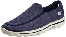 Skechers Performance Men'S Go Walk 2 Super Sock Slip-On Walking Shoe,Navy/Gray,13 M Us