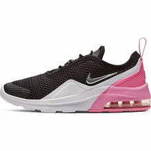 Nike Girl'S Air Max Motion 2 (Ps) Pre School Shoe Black/Metallic Silver/Psychic Pink/White Size 1.5 M Us