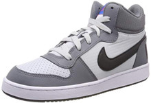 Nike 839977-009: Big Kid'S Court Borough Cool Grey/Anthracite Sneakers (6.5 M Us Big Kid)