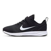 Nike Ar4138-002: Little Kid'S Black/White Downshifter 9 Running Sneakers (1 M Us Little Kid)