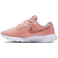 Nike Girl'S Tanjun Shoe Pink Tint/Metallic Rose Gold/Atmosphere Grey Size 11 Kids Us