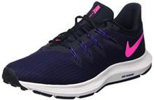 635dd8e89f371 Nike Womens Quest Light Carbon/Black/Laser Orange - ShoeWebster.com