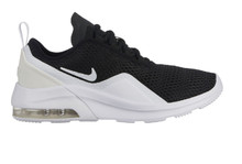 Nike Boy's Air Max Motion 2 Shoe Black/White Size 4.5 M US