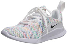 Nike Women'S Viale Space Dye (Ps) Sneaker, White/Black/Laser Fuchsia, 13C Regular Us Little Kid