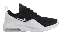 Nike Boy's Air Max Motion 2 Shoe Black/White Size 5 M US