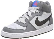 Nike 839977-009: Big Kid'S Court Borough Cool Grey/Anthracite Sneakers (5 M Us Big Kid)