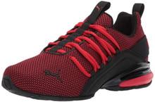 Puma Axelion Sneaker High Risk Red Black, 4 M Us Big Kid