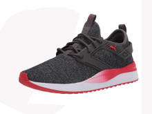 Puma - Mens Pacer Next Excel Variknit Shoes, Size: 9.5 D(M) Us, Color: Dark Shadow/High Risk Red