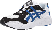 ASICS Gel-BND Men's Running Shoes, White/Asics Blue, 11 M US