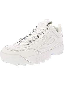 Fila Men's Disruptor Ii Premium White/Ankle-High Patent Leather Fashion Sneaker - 8.5M
