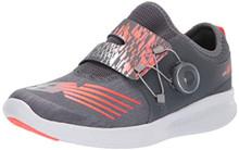 New Balance Boys' BKO V1 Running Shoe, Black/Rainbow, 11 M M US Little Kid