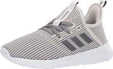 adidas Women's Cloudfoam Pure Sneaker, raw Night Metallic/Cloud White, 6.5 M US