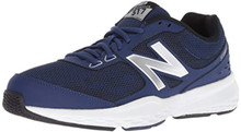New Balance Men's 517v1 Cross Trainer, Techtonic Blue, 8.5 4E US