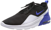 Nike Men's Air Max Motion 2 Shoes (11.5, Black/Game Royal)
