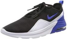 Nike Men's Air Max Motion 2 Shoes (8, Black/Game Royal)
