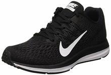 Nike Women's WMNS Zoom Winflo 5, Black/White-Anthracite, 9 M US