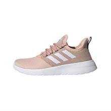 adidas Women's Lite Racer RBN Running Shoe, Glow Pink/White/Onix, 9.5 M US