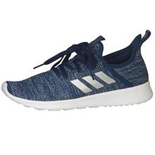 adidas Cloudfoam Pure Shoe - Women's Running Tech Steel/Silver Metallic/Grey,5.5