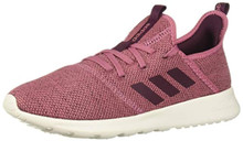 adidas Performance Women's Cloudfoam Pure Running Shoe, Maroon/Maroon/White, 8.5 M US