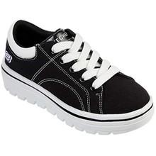 Skechers Girls' Street Cleats 2 Sneaker Black 1.5