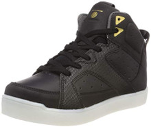 Skechers Boys' E-Pro-Street Quest Hi-Top Trainers, Black (Black Blk), 1.5 34 EU