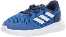adidas Baby Archivo Sneaker, White/Dark Blue, 7K M US Toddler