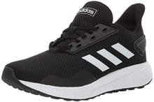 adidas Unisex-Kid's Duramo 9 Running Shoe White/Black, 6.5