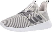 adidas Women's Cloudfoam Pure Sneaker, raw Night Metallic/Cloud White, 5 M US