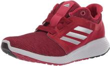 adidas Women's Edge Lux 3 Running Shoe, active maroon/silver Metallic/Grey, 6 M US