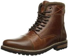 Crevo Men's Camden Chestnut Leather 12 W US