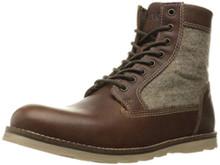 Crevo Men's Trilby Winter Boot, Chestnut, 12 M US