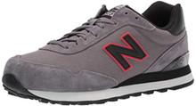 New Balance Men's 515v1 Sneaker, Castlerock/Black, 8.5 M US