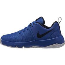 Nike Boys' Team Hustle Quick (GS) Sneaker, Game Royal/Black-White, 4Y Regular US Big Kid