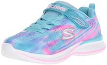 Skechers Kids Girls' Jumpin JAMS-Dream Runner Sneaker, BLMT, 4.5 Medium US Big Kid