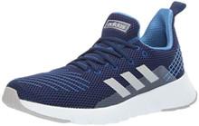 adidas Men's ASWEEGO, Dark Blue/Grey/Collegiate Royal, 10.5 M US