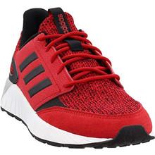 adidas Mens Questarstrike Casual Sneakers, Red, 9.5