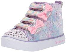 Skechers Kids Girls' Twinkle Breeze 2.0-Unicorn Sneaker, Lavendar/Pink, 12